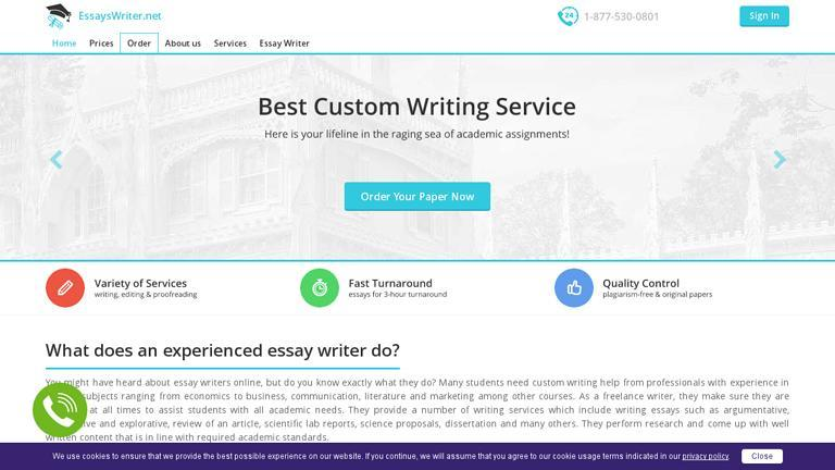 EssaysWriter.net Discount Coupon