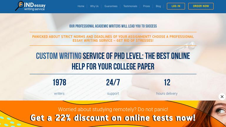 FindWritingService.com Discount Coupon