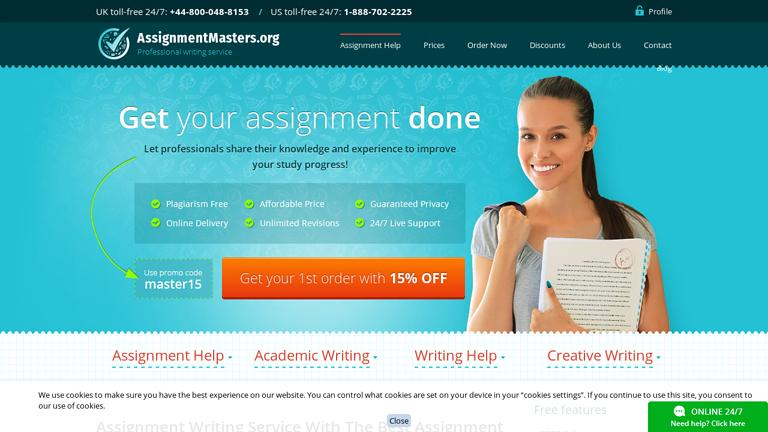 AssignmentMasters.org Discount Coupon
