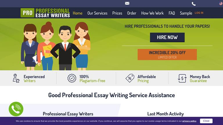 ProfessionalEssayWriters.com Discount Coupon