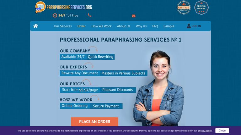 ParaphrasingServices.org