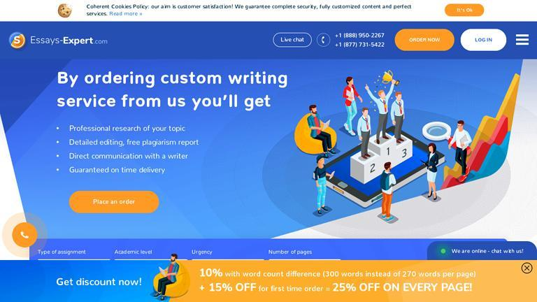 Essays-Expert.com Discount Coupon